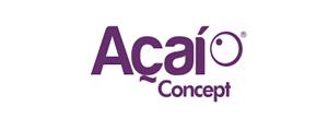 franquia acai concept logo