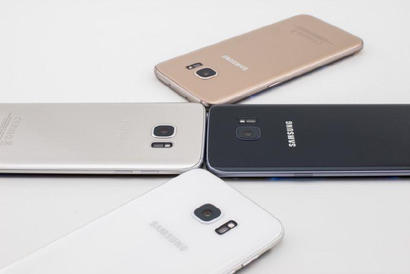Samsung Galaxy S7 Vaka renkleri
