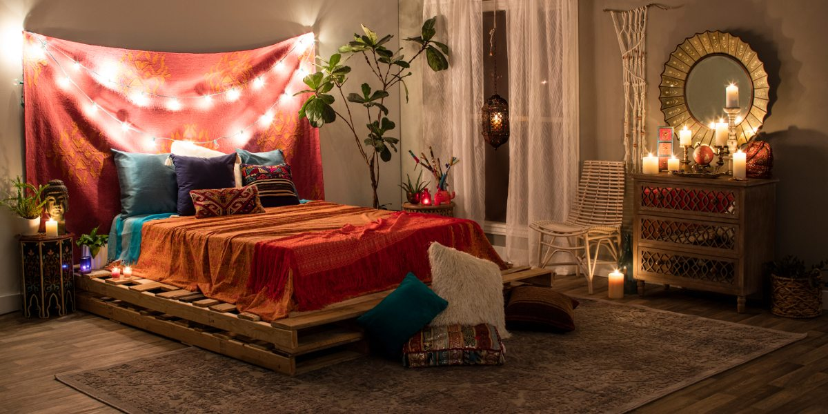 Boho Chic Furniture   Decor Ideas You ll Love   Overstock com A boho chic bedroom