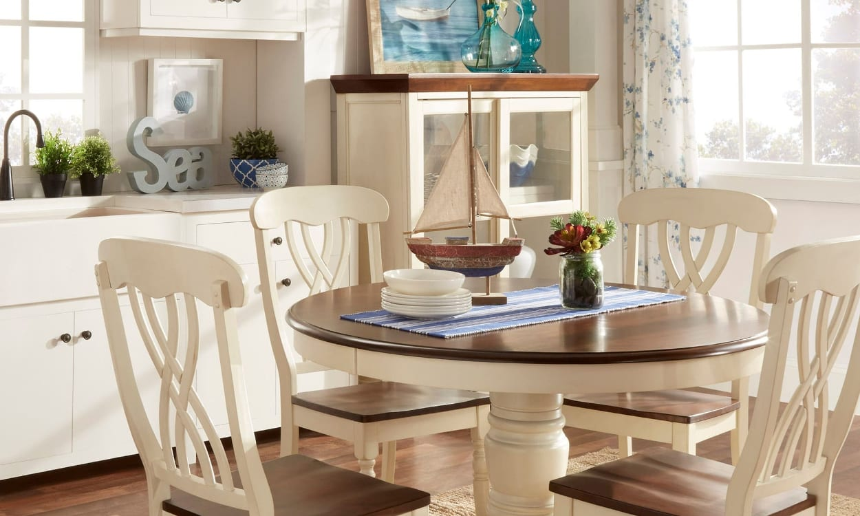 9 Stylish Dining Room Decorating Ideas   Overstock com Coastal Dining Room