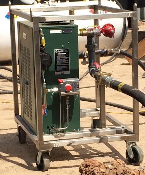 Spark Plug Gas Burner