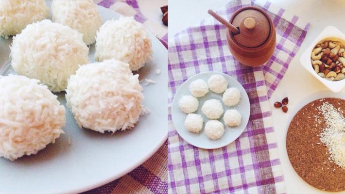 Қызықты рецепт - «Рафаэлло» десертті сүзбе