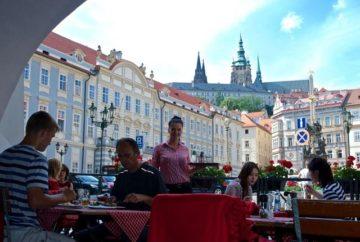 Прага кафесі, Чехия