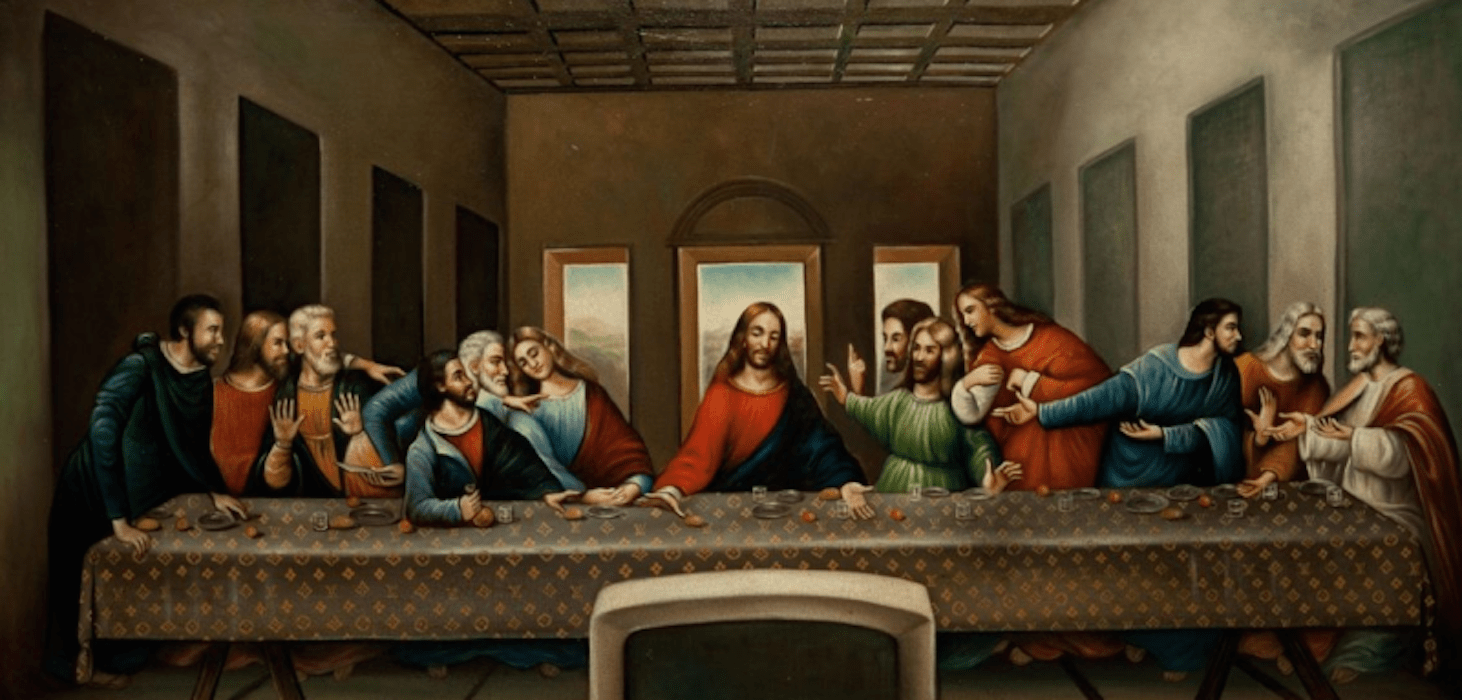 judas leaves last supper into the night - 1160×560