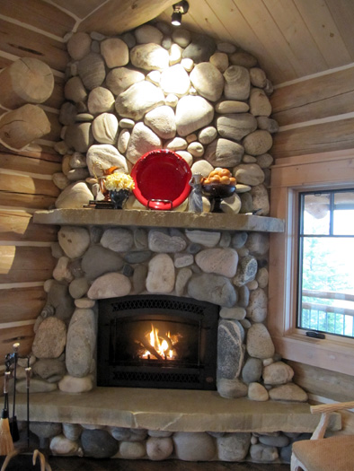 Fireplace Amp Rockwork Hackbarth Construction