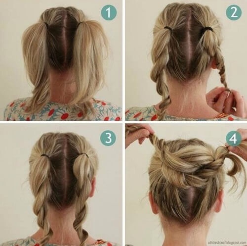 Easy Messy Bun Hairstyles For Long Hair Page 1