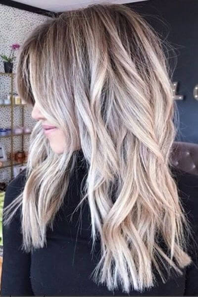 Blonde Highlights Light Brown Hair