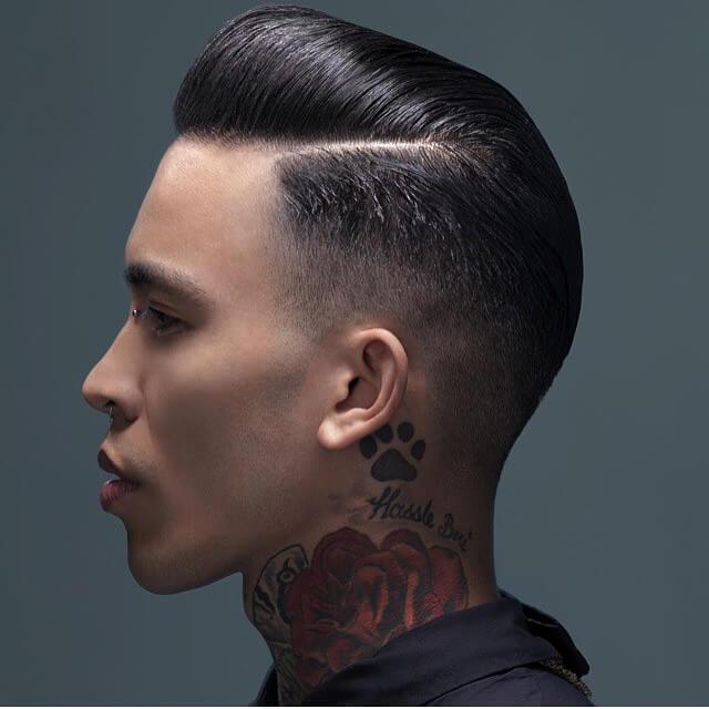 Men Modern Greaser Hairstyles