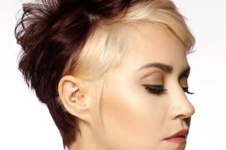 2 tone Short Hairstyles