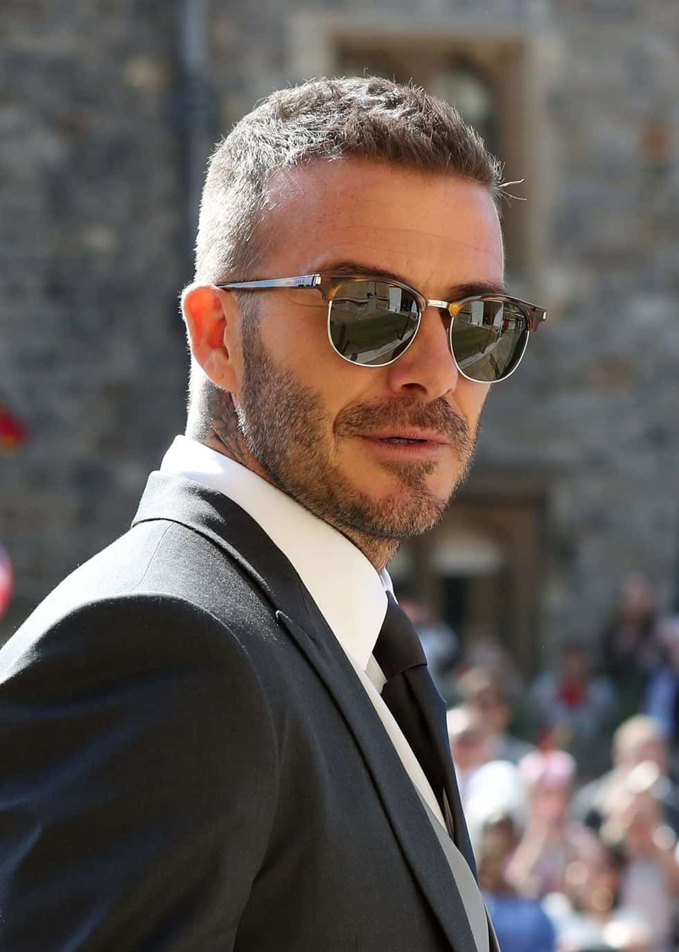 David Beckham Walked into The Royal Wedding with a Classic ...