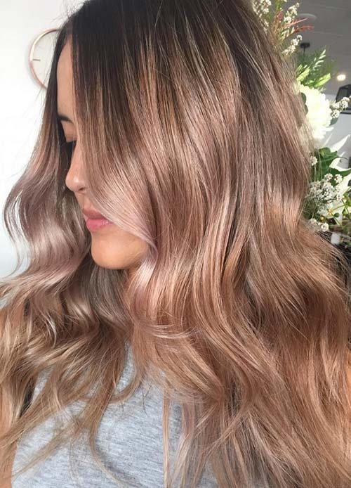 Bronze Copper Hair Color