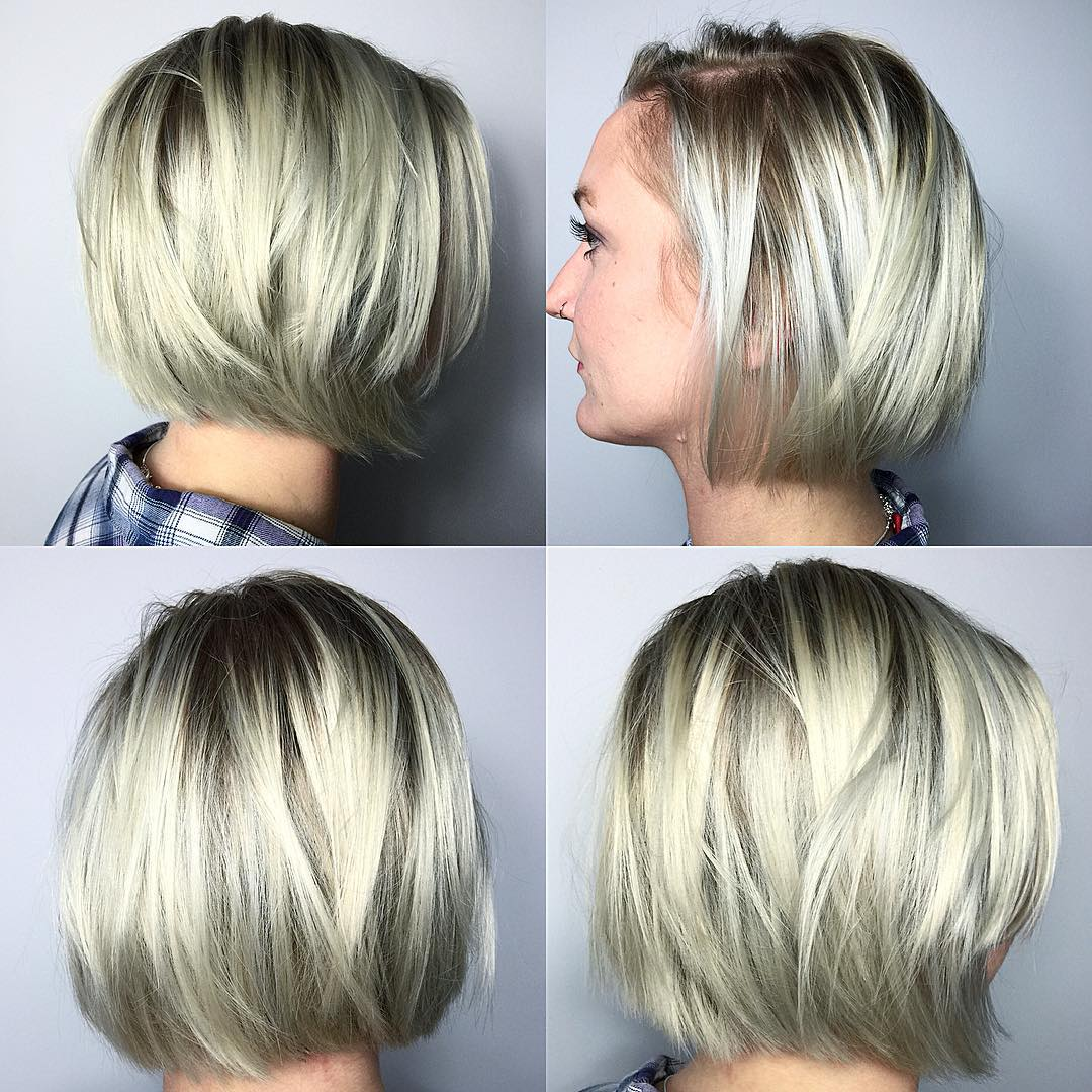 Bangs Faces Medium Hairstyles Round Length