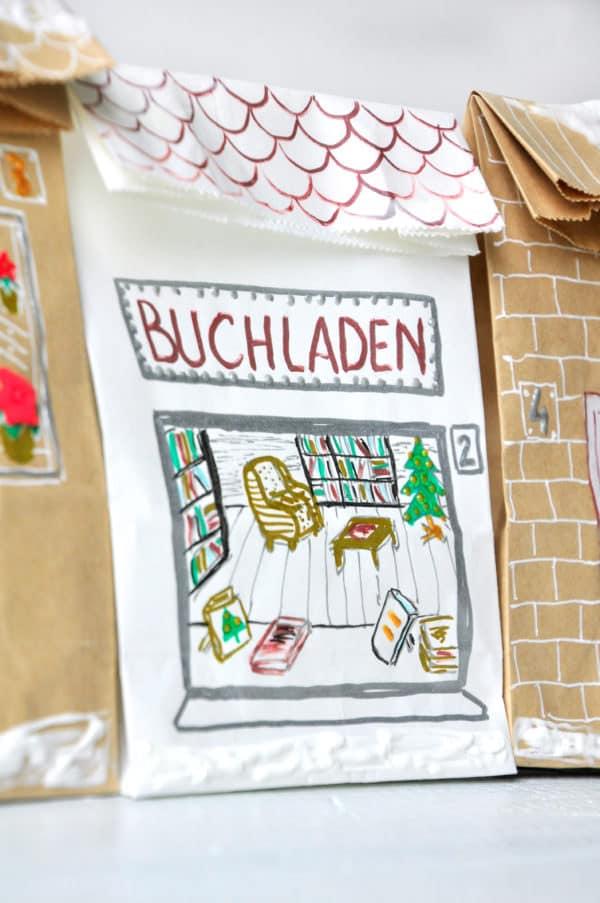 Häuser Adventskalender - HANDMADE Kultur