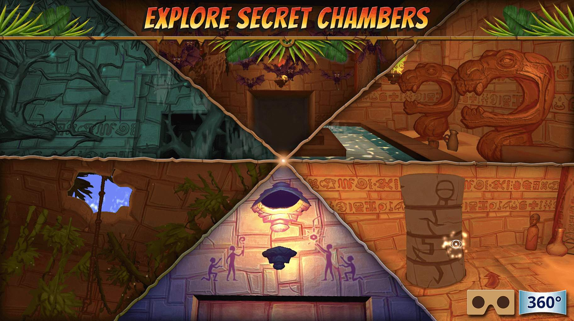 Hidden Temple     VR Adventure Release  Top VR Game for Google     Hidden Temple     VR Adventure Screenshot 02