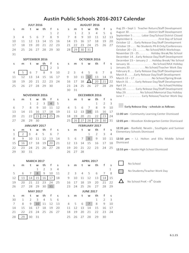 Janu 2017 Calendar Printable