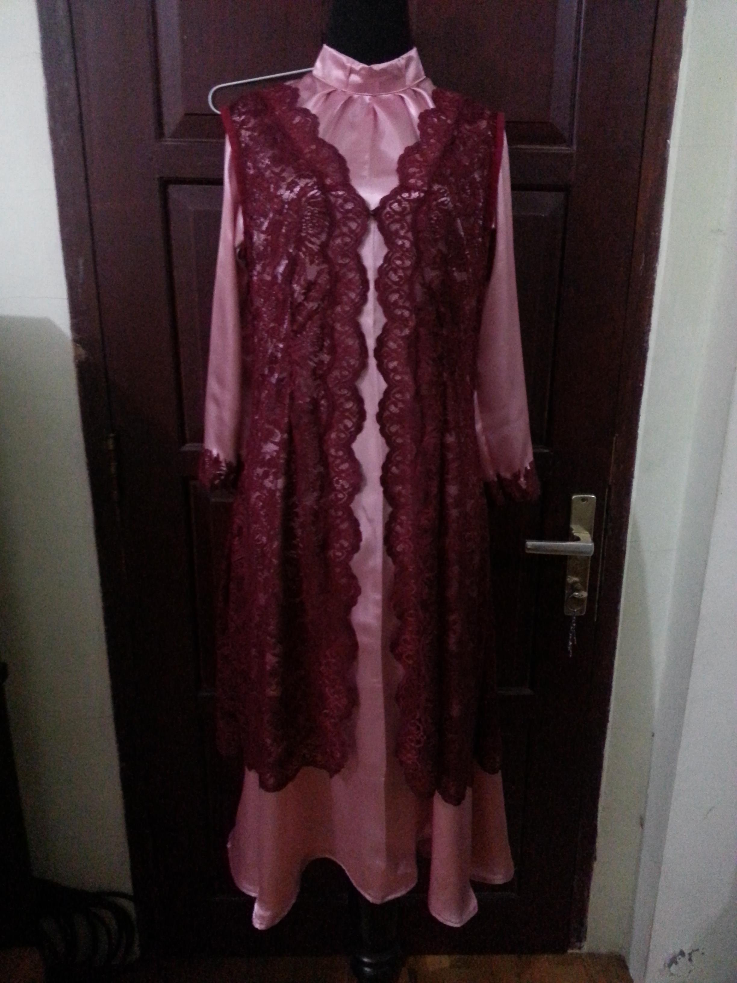 Model Gamis Batik Untuk Nenek2 Inspirasi