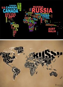 typo world map wallpaper   hannahbradydesign typo world map wallpaper
