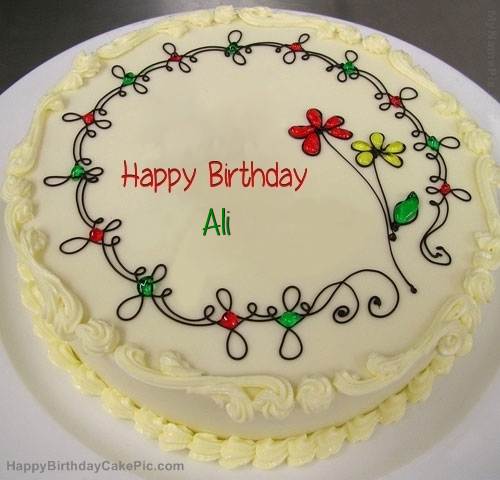 Birthday Cake For Ali