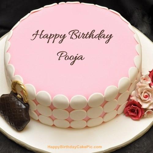 Happy Birthday Pooja Di Cake Image Fitrini S Wallpaper