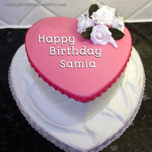 Birthday Cake For Samia