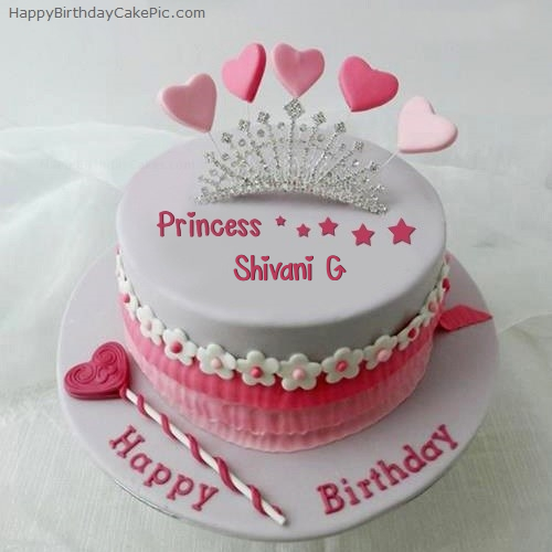 Happy Birthday Cake Shivani