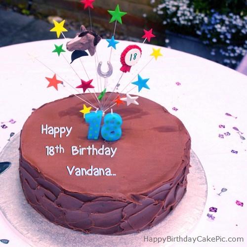 Happy Birthday Cake Vandana