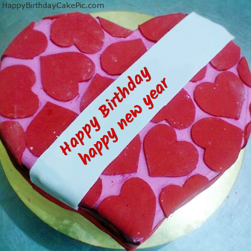 Happy Birthday Cake For Lover For happy new year