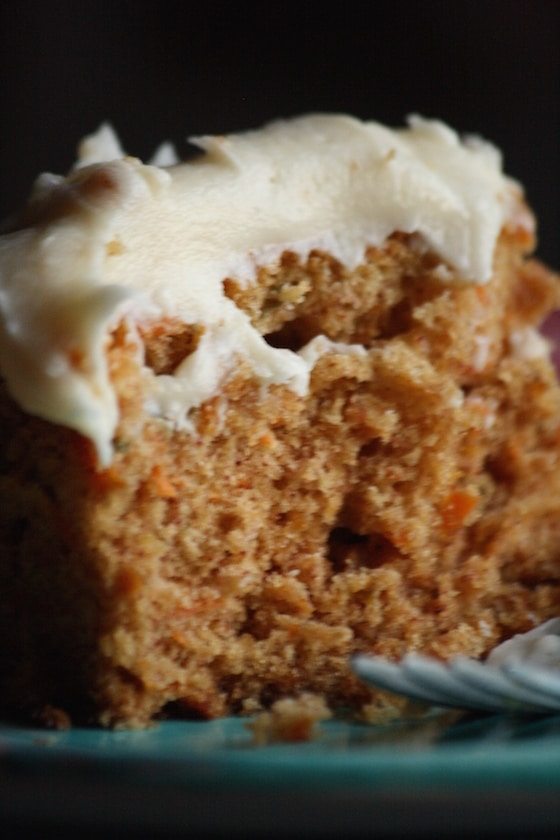 Crazy Good Carrot Cake With Cream Cheese Frosting Happy