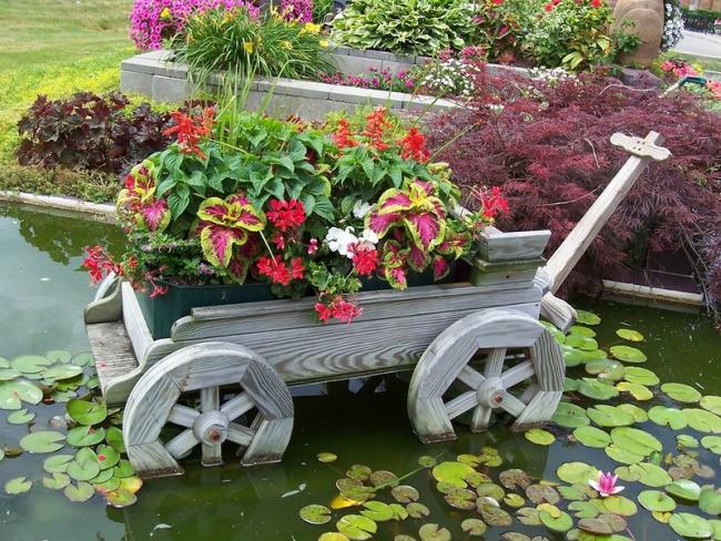 La trama del giardino è un luogo in cui è possibile implementare il tuo potenziale creativo.