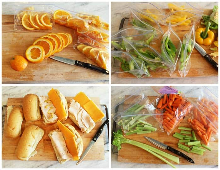 Small Healthy Packed Lunch Ideas
