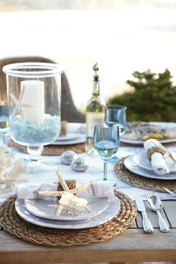 Seaside Themed Kitchen Accessories