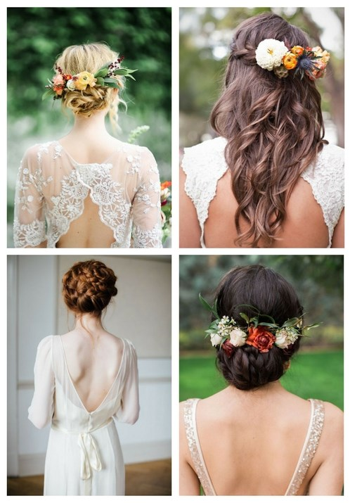 35 Beautiful Fall Wedding Hairstyles   HappyWedd com 35 Fall Wedding Hair
