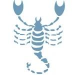 Zodiac Scorpio элементтеріне арналған белгілер