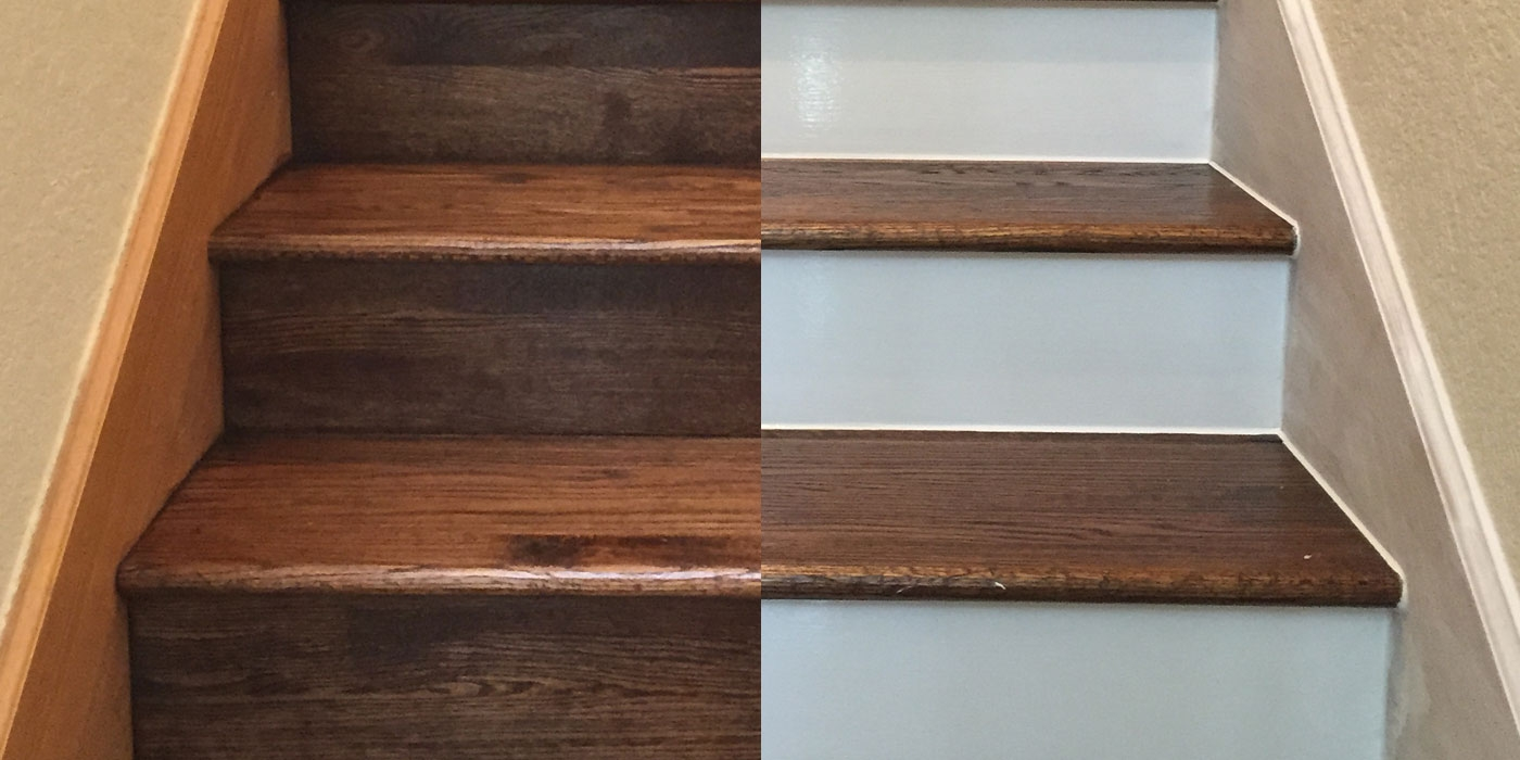 Painting Your Hardwood Stair Risers | Best Wood For Stairs | Engineered Hardwood | Stairway | Engineered Wood Flooring | Staircases | Wooden Staircase