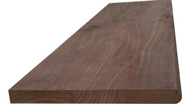 Walnut Hardwood Stair Tread – Blackford Sons Hardwood Stair Treads | 36 Oak Stair Treads | Stair Parts | Red Oak | Lowes | White Oak | Unfinished Solid