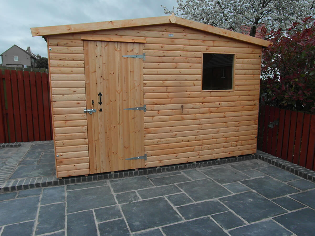 Wooden Garden Sheds From Harker Garden Buildings Carlisle