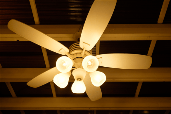 Top 3 Reasons To Replace Your Ceiling Fan   Harrison Electric Top 3 Reasons To Replace Your Ceiling Fan