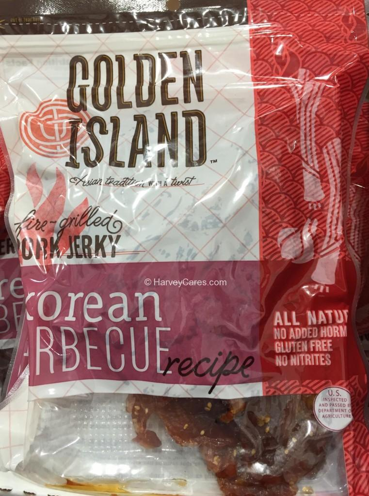 Golden Island Korean Barbecue Pork Jerky Harvey Costco
