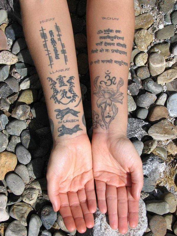 30 Cool Sanskrit Tattoos - Hative