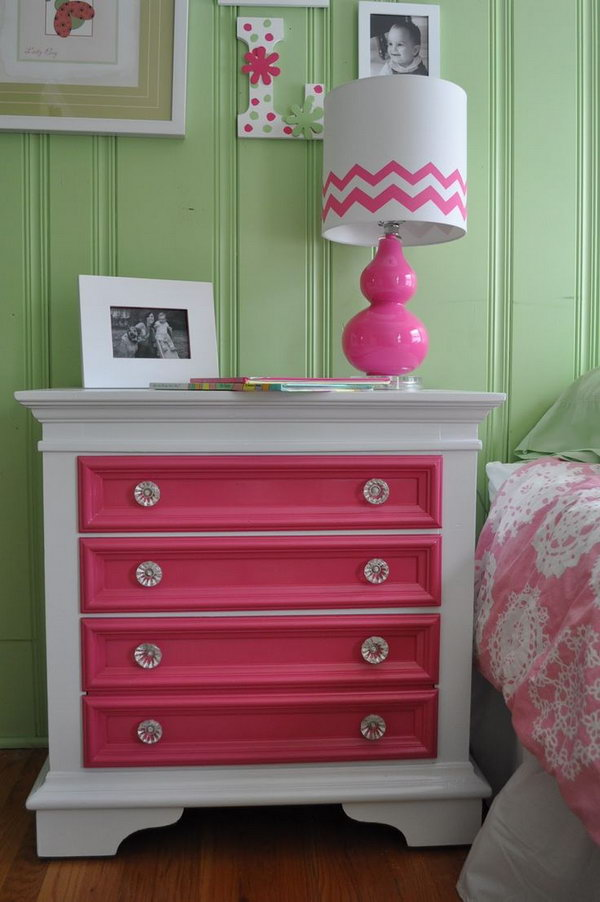 Repurposed Old Chest Of Drawers Out