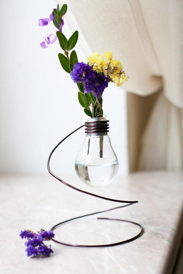 How Make Vape Out Light Bulb