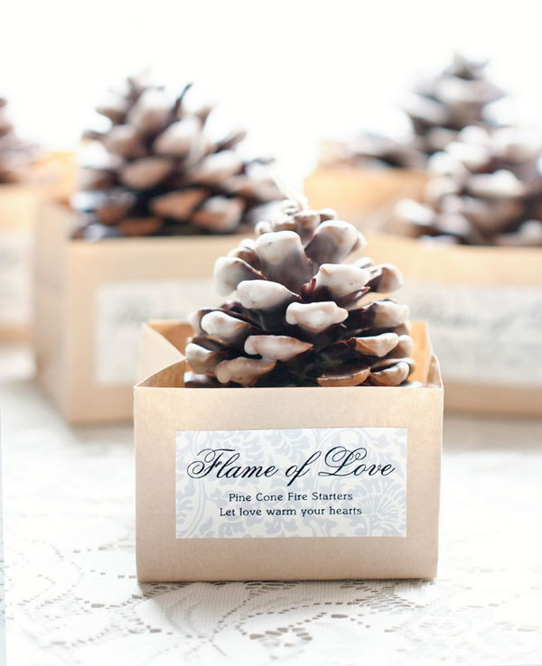 Cheap Winter Wedding Favors