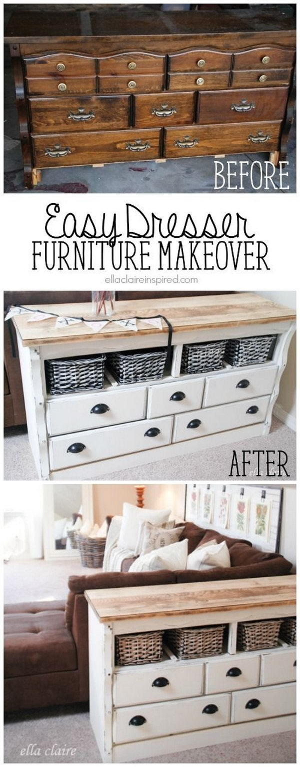 And Old After Refurbish Furniture