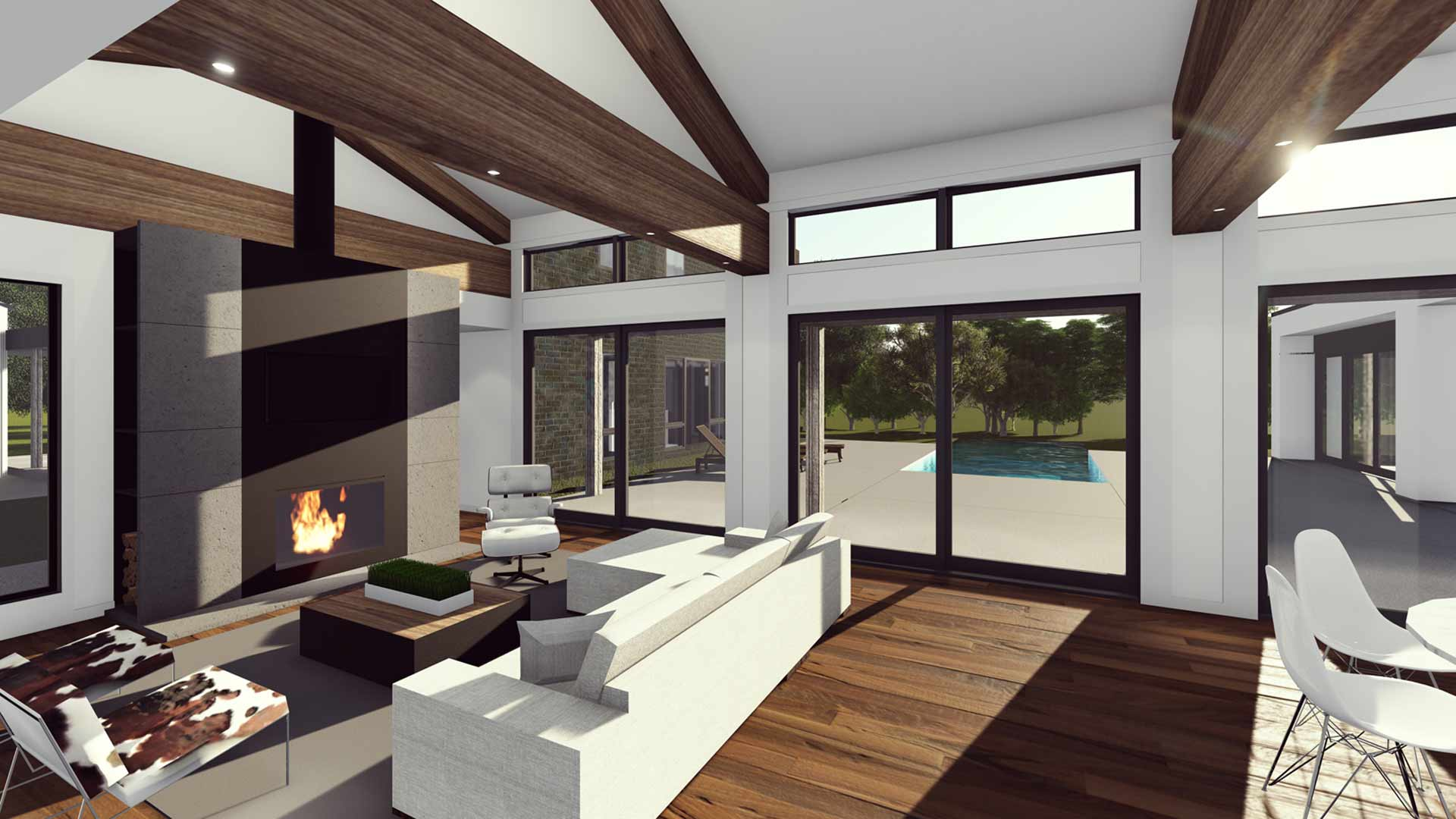 New Modern House Ditch Haus Architecture For Modern