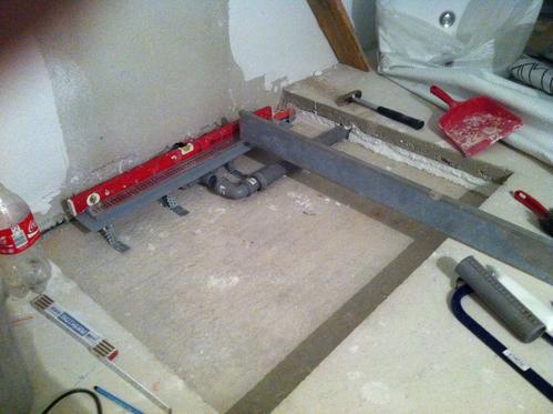 Bodengleiche Dusche – Installation von Ablauf