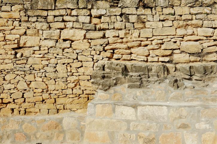 Bruchsteinmauer neu verfugen » Detaillierte Anleitung