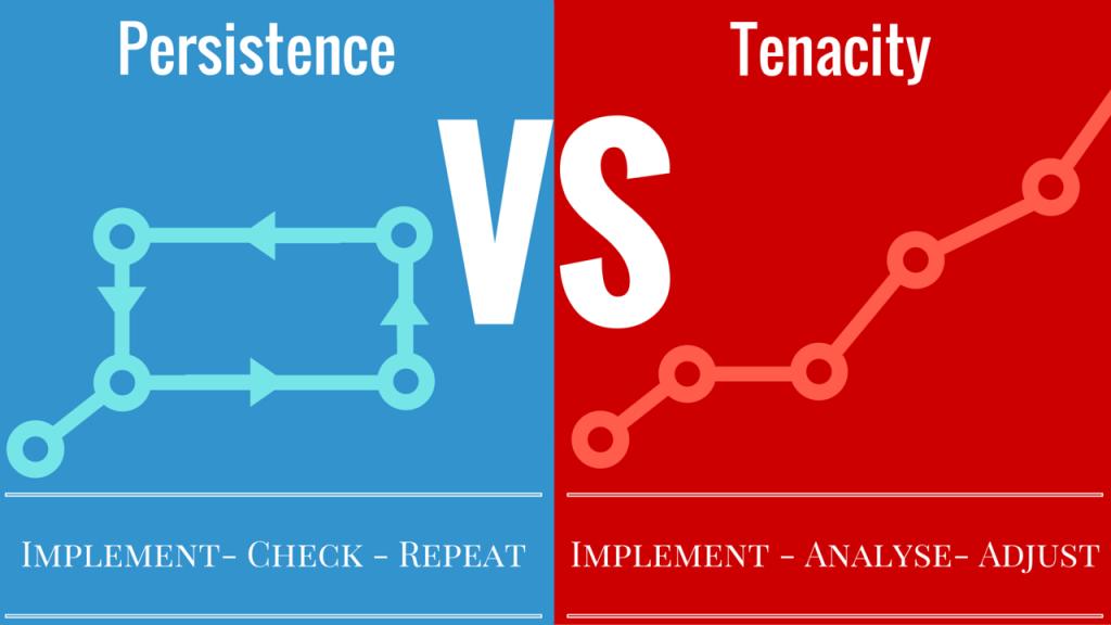 Why Tenacity Always Trumps Persistence