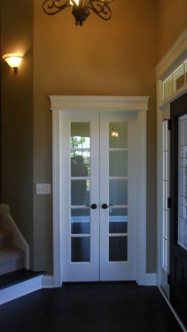 Interior french doors for office   Hawk Haven interior french doors for office photo   1