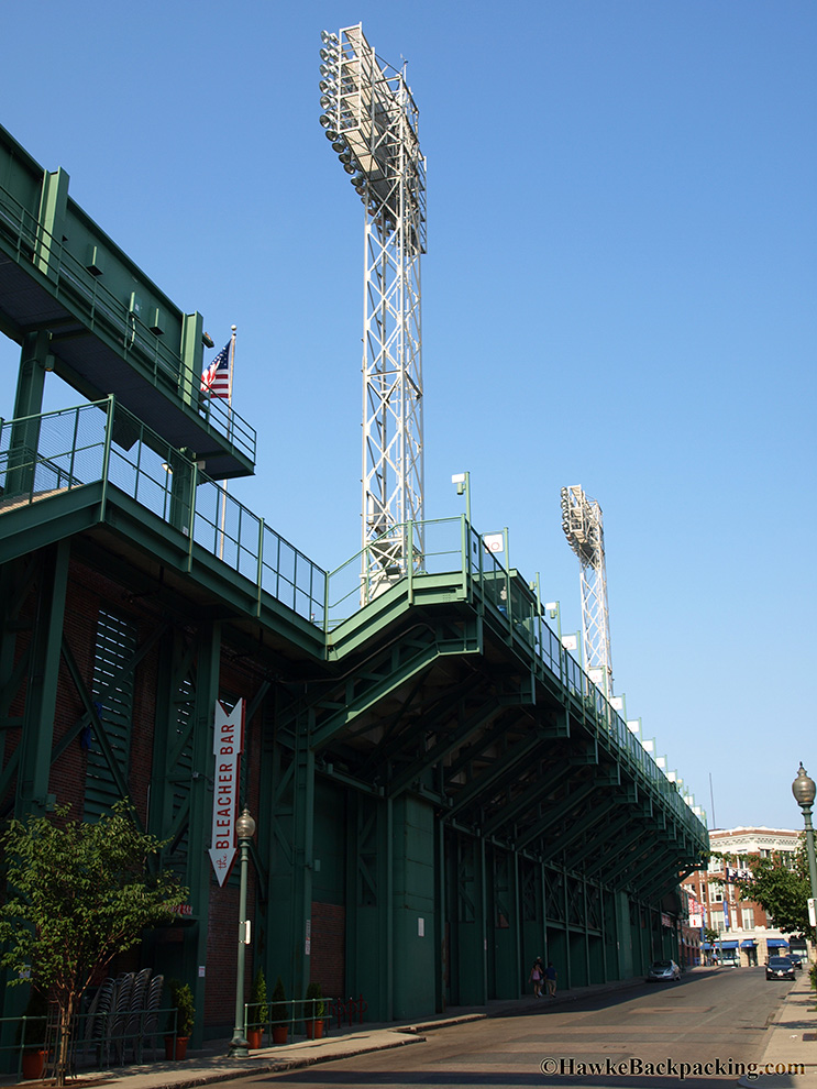 Green Monster Scoreboard Fenway