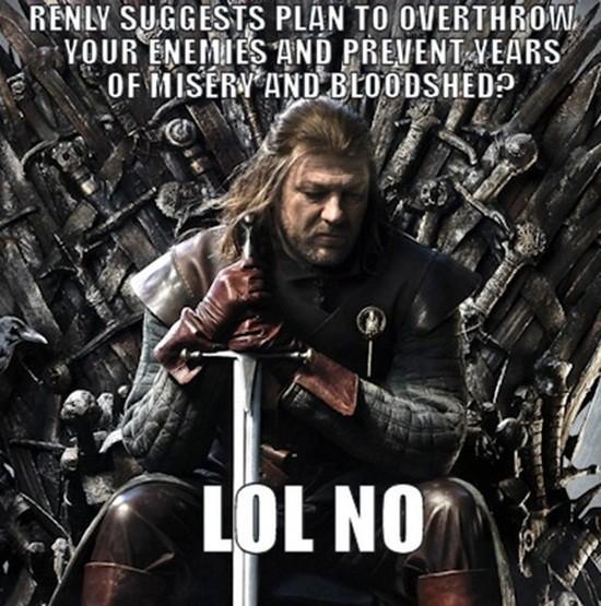 Baseball Coming Ned Stark Meme
